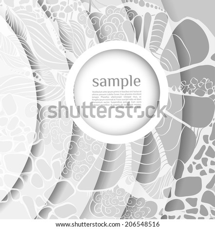 Shiny abstract background with bubble ?an be used for invitation, congratulation or website - stock photo