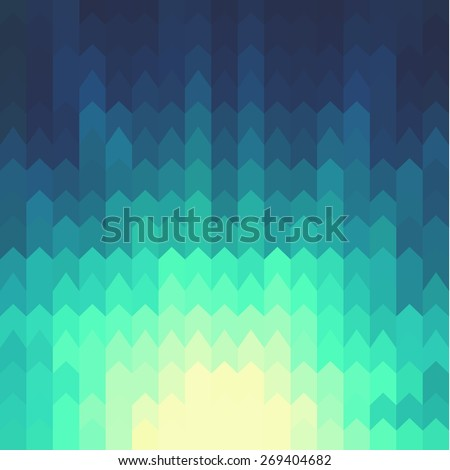 Shiny background with geometric pattern  - raster version - stock photo