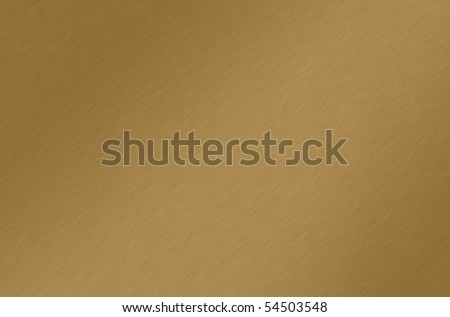 Shiny brushed bronze/brass/gold texture. Background. - stock photo