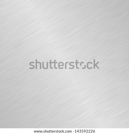 Shiny Brushed Steel - stock photo