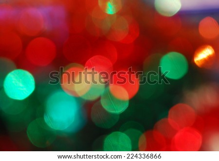 shiny Christmas background - stock photo