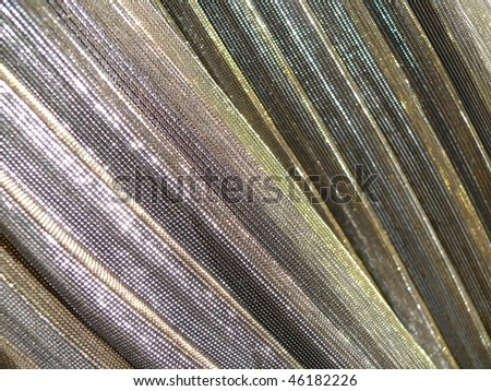 Shiny colorful oriental silky textile closeup. More of this motif & more decors in my port. - stock photo
