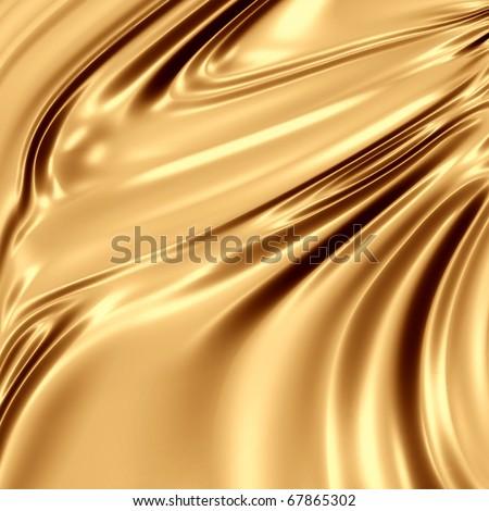 Shiny drapery backdrop - stock photo