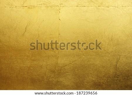 shiny gold background - stock photo