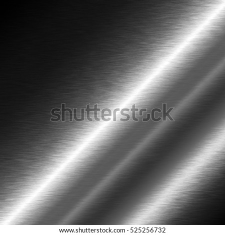 shiny metal texture silver background