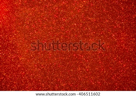 shiny particles red background - stock photo