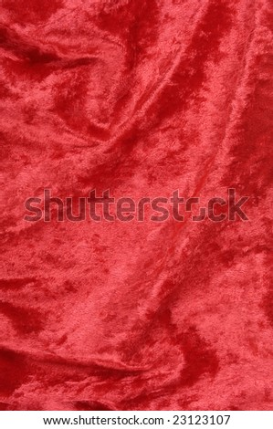 Shiny red fabric background texture