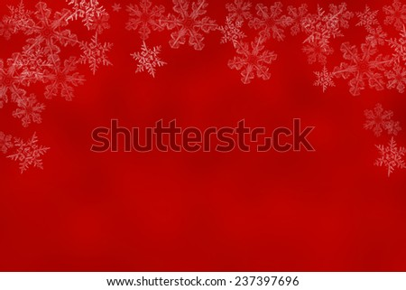 Shiny starry lights on red background. christmas background  - stock photo