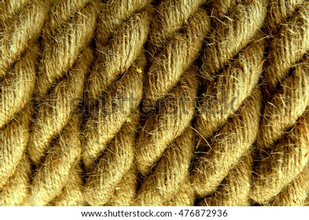 ship or climbing rope background
