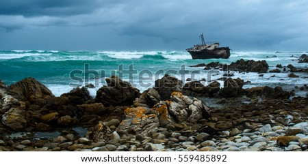 Ship Wreck at Cape Agulhas
