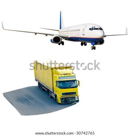 shipping - stock photo
