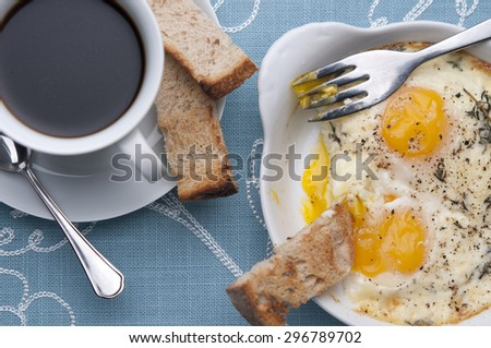 Shirred Eggs