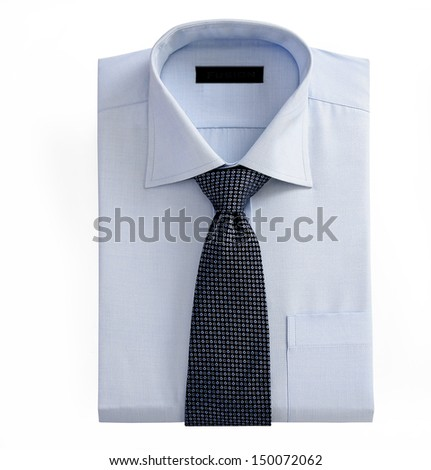 Shirt and Tie - stock photo