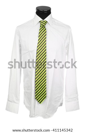 shirt under the white background