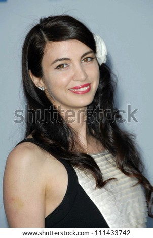 Shiva Rose  at the 2007/2008 Chanel Cruise Show Presented by Karl Lagerfeld. Hanger 8, Santa Monica, CA. 05-18-07 - stock photo