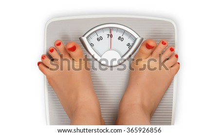 Shock after checking weight