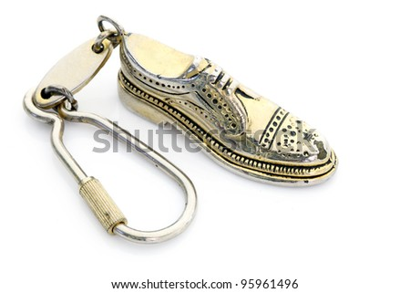 Shoe key chain.
