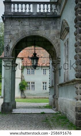 Shoenborn Palace near Chynadiyovo, Ukraine - stock photo