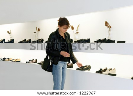 Shoes shopping