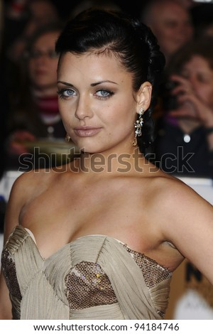 Shona Mcgarty arriving for the National Television Awards, O2, London. 25/01/2012 Picture by: Steve Vas / Featureflash