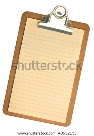 Shop Clipboard