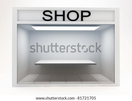 Shop Front - stock photo