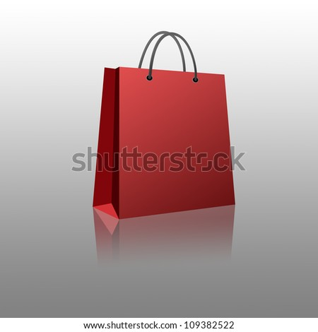 Shopping bag with Clipping Part