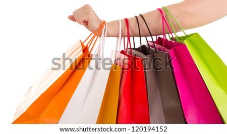 Shopping bags - stock photo