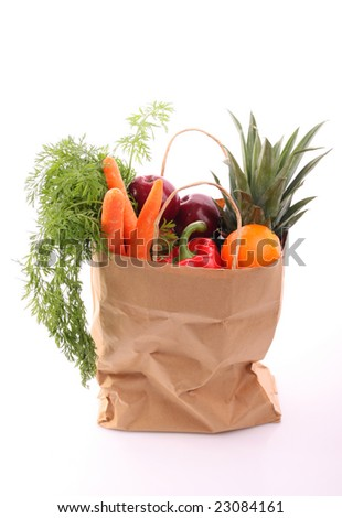 Shopping grocery bag