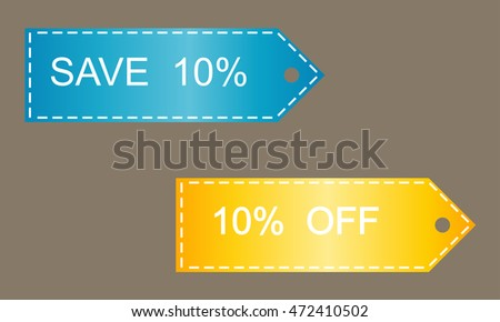 Shopping Sale Discount Badges