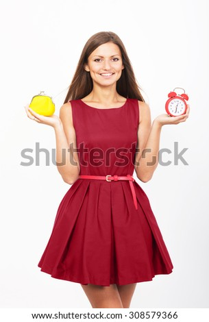 Shopping time concept  - stock photo