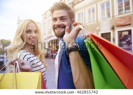 Shopping time with my girlfriend