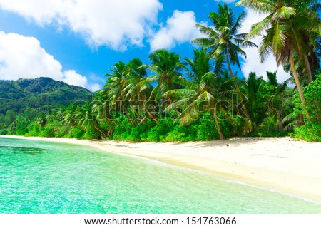 Shore Dream Tranquility  - stock photo