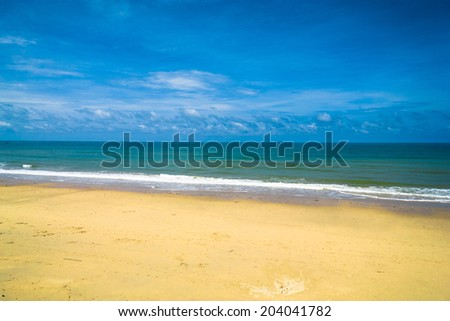 Shore Landscape On a Beach