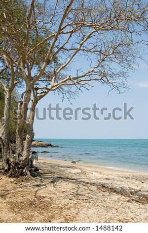 Shore Location:Pattaya,Thailand - stock photo