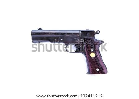 Short shotgun isolated on white background - stock photo