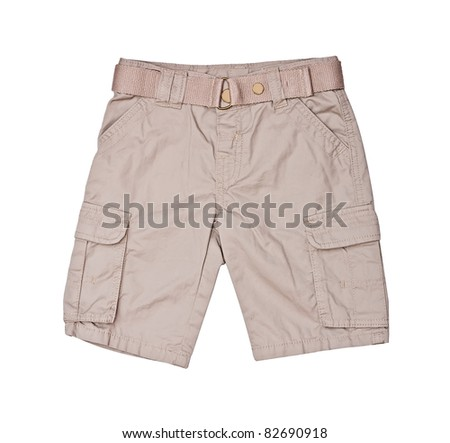 shorts for kid - stock photo