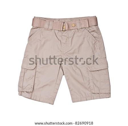 shorts for kid - stock photo