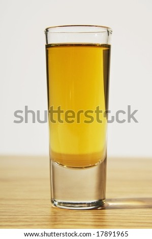 Shot glass - stock photo