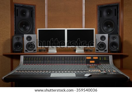 Outstanding Recording Studio Stock Images Royalty Free Images Vectors Largest Home Design Picture Inspirations Pitcheantrous