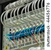 shot of servers and network cables  in a technology data center see more in my portfolio - stock photo