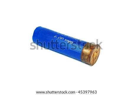 shotgun shell - stock photo