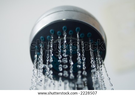 Shower head - stock photo