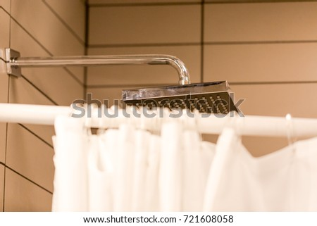 Shower Room Shower Head Stock Photo (Royalty Free) 721608058 ...