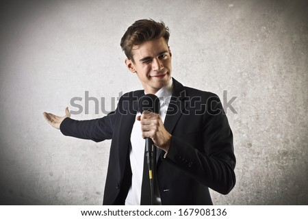 Showman - stock photo
