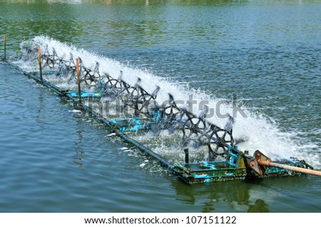 Shrimp clarifier in trat province , Thailand - stock photo