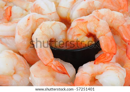 Shrimp Cocktail up Close