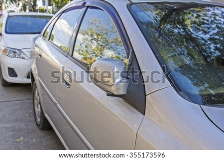 side mirror car, wing mirror fold - car side view mirror folded
