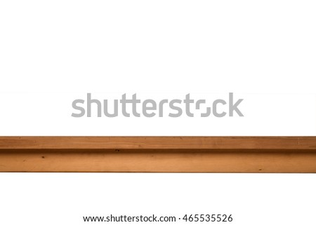 Side view from table asian wooden for image editing for advertising.