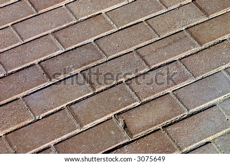 sidewalk #2 - stock photo